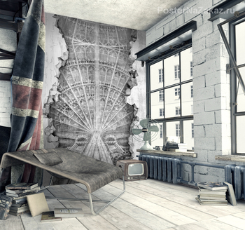 Фотообои Ажурный потолок