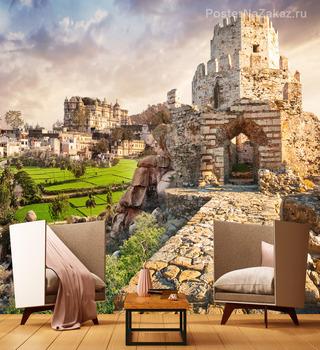 Фотообои крепость Метони