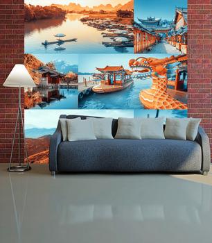 Фотообои Красочный Китай