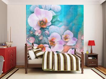 Фотообои Орхидеи на берегу