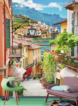 Фотообои Итальянская улочка