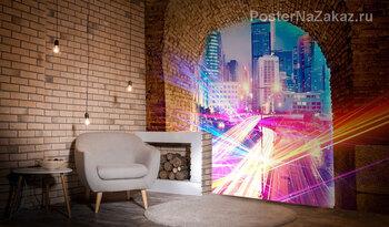 Фотообои Портал в город