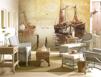 Фотообои Корабли в гавани