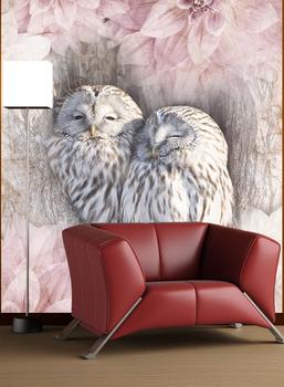 Фотообои Парочка сов