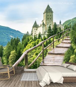 Фотообои  Вид на замок Моошем