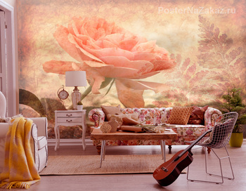 Фотообои Пионообразная роза